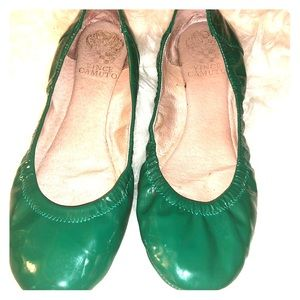 Patent leather   Green